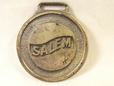 Vintage Salem Mining & Construction Machinery Tool Company Ohio Metal Watch Fob