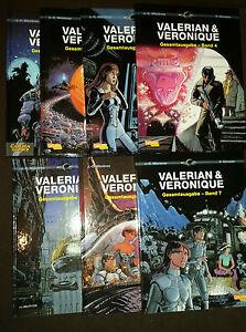 VALERIAN & VERONIQUE GESAMTAUSGABE # 1+2+3+4+5+6+7 - CARLSEN - TOP