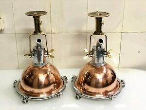 Nautical Aluminium Brass &Copper Smooth Cargo Pendant Ship Ceiling Light – LOT 2