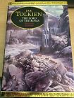 JRR Tolkien Lord Of The Rings Illustrated version by Alan Lee 1991 Hardback