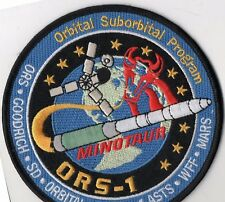 Original USAF VAFB 1ASTS ORS-1 Satellite Launch Aboard a Minotaur Rocket Patch