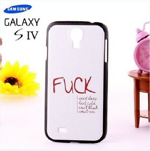 Lovely Pictorial Matte Hard Case Cover for SamSung Galaxy S4