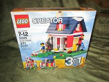 LEGO Creator 31009 3 in 1 Small cottage Windmill skater's house New Set Blocks
