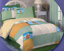 Disney Winnie the Pooh Comforter quilt full bedding 5 pcs set sheet Tigger