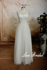 A-line Lace Wedding Gown