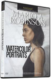 MARIO A. ROBINSON: WATERCOLOR PORTRAITS - ART INSTRUCTION DVD