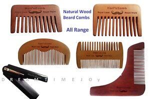 Wood Beard Lice Comb Plastic Pocket Comb Anti-static light handmade comb