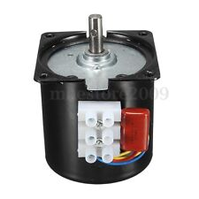 AC 110V 30RPM/Min Slow Speed Reversible Synchronous Motor Torque D-shape 50/60Hz