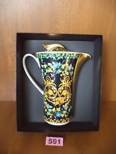 Rare Rosenthal Versace GOLD IVY - Large 2 Pint Coffee Pot