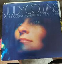 New listing RARE JUDY COLLINS LP VINYL WHO KNOWS WHERE THE TIME GOES? MINT VINYL GATEFOLD EX
