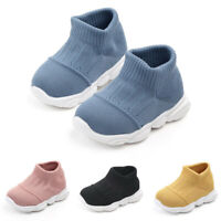 Kids Baby Boys Girls Cute Cartoon Sport Running LED Luminous Mesh Shoes Sneakers