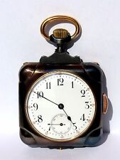 Rarität ¼ Repetition Taschenuhr, Square Repeater Pocket Watch