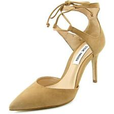 Leather Special Occasion Pumps, Classics Solid Heels for Women