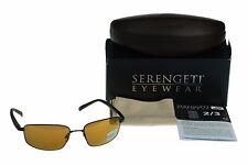 POLARIZED New SERENGETI Agazzi Photochromic Drivers Lens Satin Sunglasses 7565
