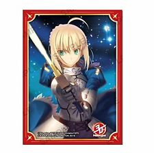 Fate/Zero 2011 Newtype 30th Saber Card Game Character Sleeves Collection Anime