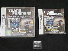 DS : TRANSFORMERS : ULTIMATE AUTOBOTS EDITION - Completo, ITA ! Comp 2DS e 3DS