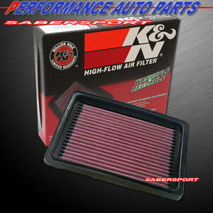 K&N 33-2143 Hi-Flow Air Intake Drop in Filter for 1995-2005 Cavalier Sunfire