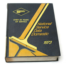 Mitchell National Service Data Domestic 1973