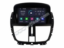 "AUTORADIO 8""Android 9.0 PEUGEOT 207/207CC 07-14 4gb/32gb Navigatore Usb wifi GPS"