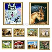 """DIY Paint By Number Kit Beautiful Painting On Canvas Home Ornament 16''*20"""""""