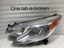 2014 2015 2016 Nissan Versa Headlight OEM Left Driver Halogen Headlamp 26060WC0A