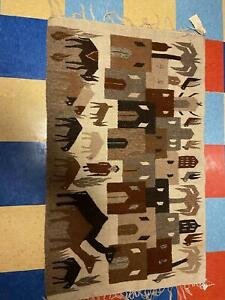 Woven Egyptian Kilim Wall Hanging discounted 30% to just $129 -34 x 54 in