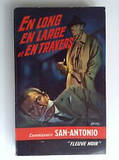 Dard San Antonio En long en large en travers Fleuve noir Reed 1958  N° 163 PN