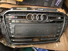 ORIGINALE Audi A3 8V Saloon Griglia Frontale Griglia Radiatore Nero Opaco Lucido