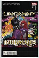 Uncanny Inhumans #1 Damion Scott Hip Hop Variant Outkast Homage Marvel 2015