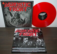 Agnostic Front-The American Dream died LP/Red VINILE/LIM. 200