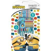 Minions  Colouring Art Kit Boys Girls Kids Arts & Craft Christmas Birthday Gift