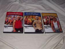 LOT of Cardio StripTease DVD's Workout Exercise Strip Tease Sexy Jeff Costa
