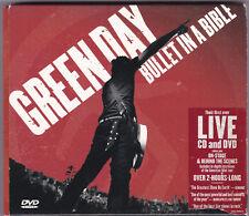 Green Day-Bullet in a bible-CD + DVD NEAR MINT