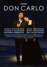 VERDI - DON CARLO 2 DVD NEU - JONAS KAUFMANN, ANJA HARTEROS, THOMAS HAMPSON