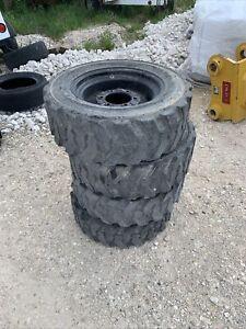 27x8.5-15 NHS tires and rims 108163 15x7.00 6 lug Titan 8 Ply  Rim Guard 27x8.50