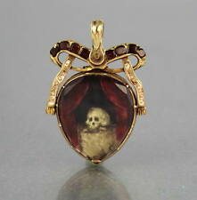 Garnet Yellow Gold Vintage Fine Jewellery (Pre-1837)
