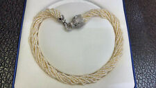 ten strands new design south sea 4-5mm white pearl necklace 18inch