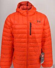 Under Armour Men's Storm ColdGear Infrared Turing Hooded Jacket Orange 2XL