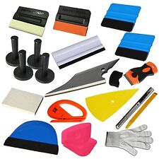 Car Vinyl Wrap Application Kit 3M Squeegee DIY Sticker Scraper Magnets Home Tool