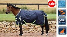 LIGHTWEIGHT HORSE TURNOUT RUG Jump 50g Waterproof Standard Neck