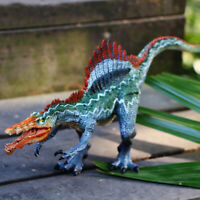 """11"""" Jurassic Realistic Spinosaurus Dinosaur Movable Jaw Figure For Kids GIFT Toy"""