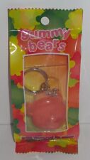 Gummy Bears - Fruit Flavored Lip Gloss Keychain - 2005 - New & Sealed