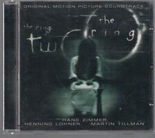 HANS ZIMMER - THE RING / THE RING TWO OST CD TOP RARE OOP