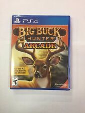 Big Buck Hunter Arcade [PlayStation 4 PS4) ***BRAND NEW FACTORY SEALED***