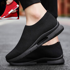 Women's Casual Running Sneakers Athletic Walking Tennis Slip on Shoes Gym Sports