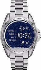 Michael Kors Access Unisex Silver Stainless Steel Touch Smart Watch MKT5012