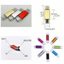 Hot OTG Micro USB Flash Drive Memory Stick Card Reader for 2TB 1TB Phone PC
