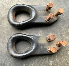 Ford F-250 F-350 F450 F-550 Superduty Front Tow Hooks Left & Right OEM 1999-2004