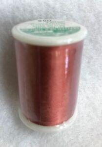 CLOVER - TIRE SILK 50wt thread - Clay red 109 yard spool # 701 color 055 NEW!