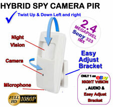 HD 1080P  CCTV Covert Hidden Spy 2mp Camera Audio Mic Microphone Night Vision